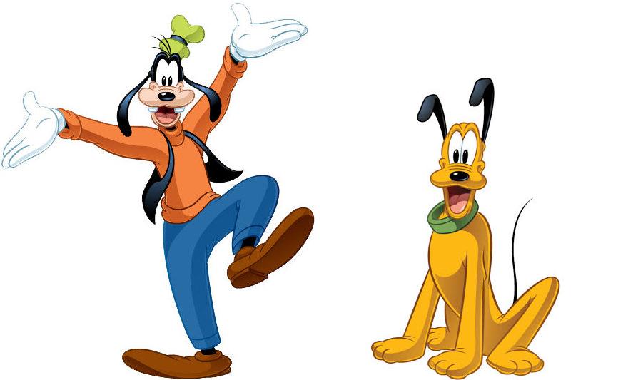 Na de pontosan milyen kutya Plútó és Scooby-Doo?
