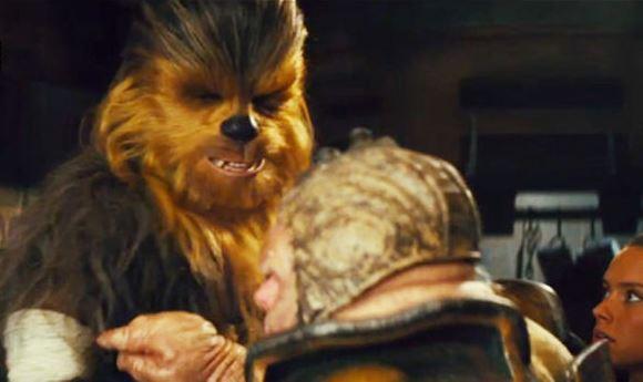 Kivágták a Star Wars 7-ből Csubi karletépős jelenetét