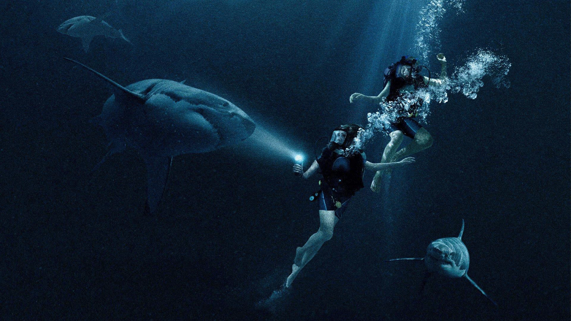 Lám a cápa szája tátva - 47 méter mélyen kritika