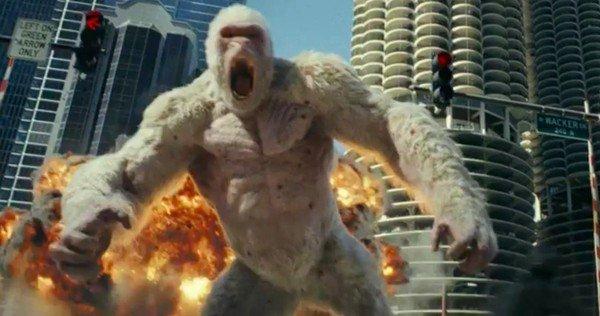 Dwayne Johnson suttyomban látványos King Kong-filmet forgatott