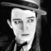 Buster Keaton profilképe