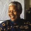 Nelson Mandela profilképe
