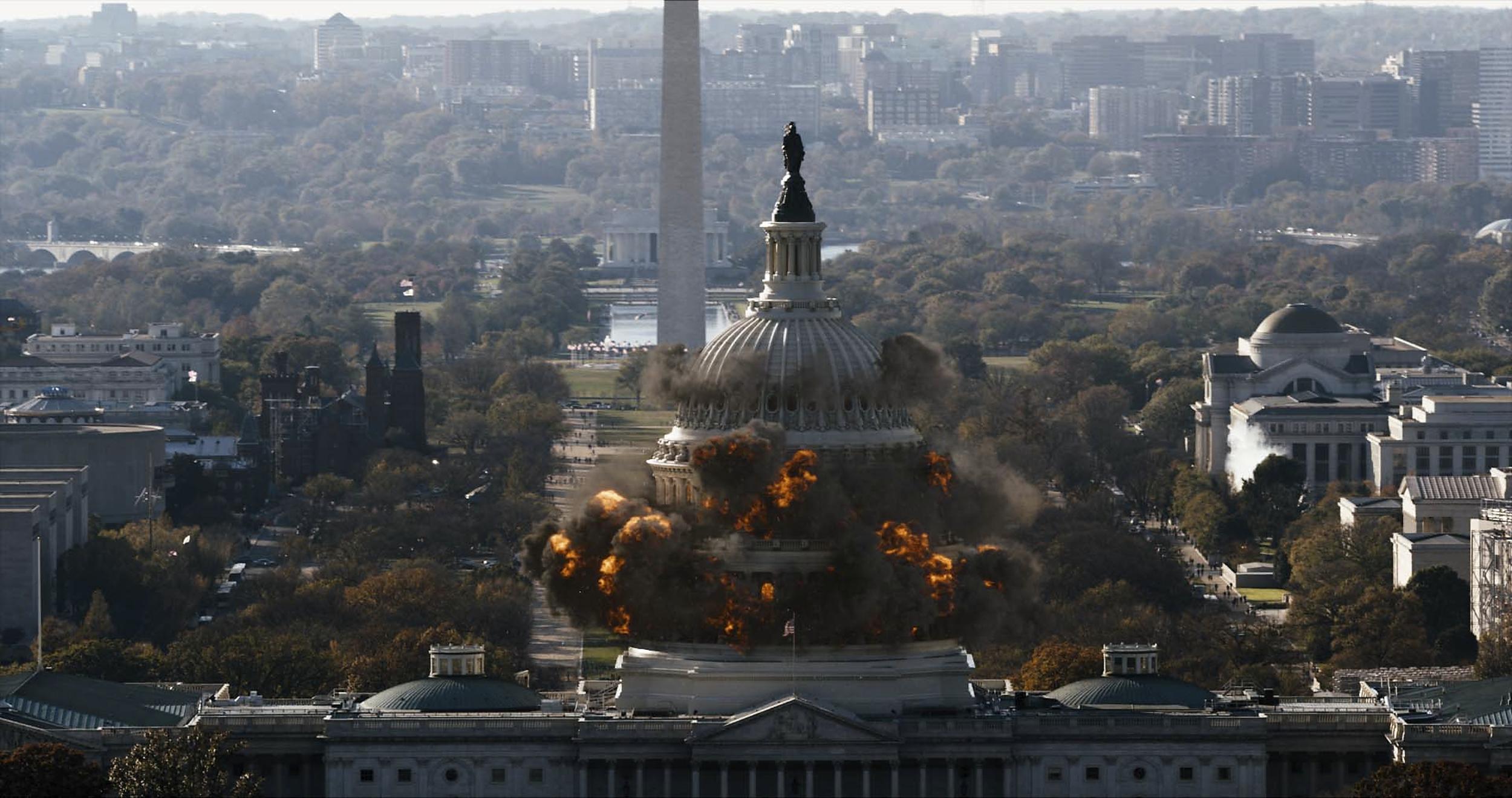 5 film, amiben elszabadult a káosz Washingtonban