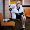 Delphine Seyrig profilképe