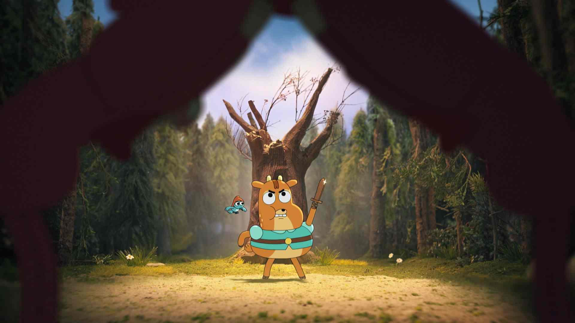 Vadonatúj, dán animációs sorozat indul a Cartoon Networkön