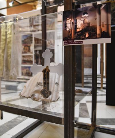 New Yorkba utazik a Magyar Nemzeti Múzeum Kereszt-tűzben - Keresztényüldözés a Közel-Keleten című kiállítása