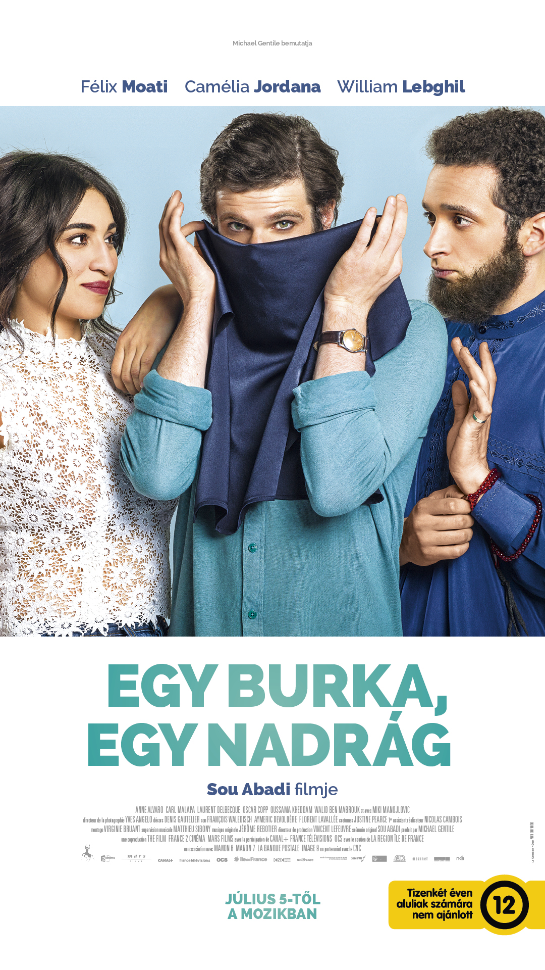Egy burka, egy nadrág