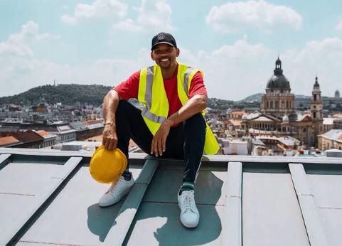 Will Smith látványosan jól érzi magát Budapesten