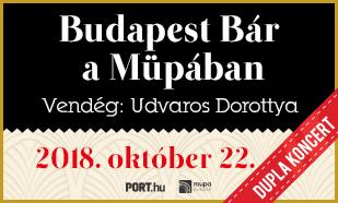 Budapest Bár a MÜPÁban - MEGDUPLÁZZUK!