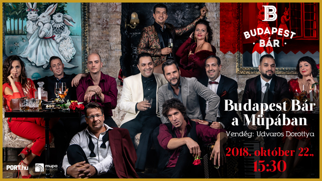 Hosszú hétvégén mi Budapest Bár koncertre megyünk