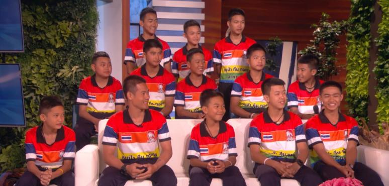 Megszólalt a barlangba szorult thai focicsapat