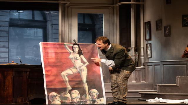 Mit ér a művészet - A kegyelmesasszony portréja