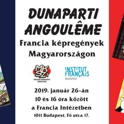 Dunaparti Angoulême: francia képregények Magyarországon