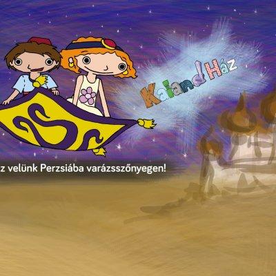 Purim - Utazz velünk Perzsiába varázsszőnyegen!