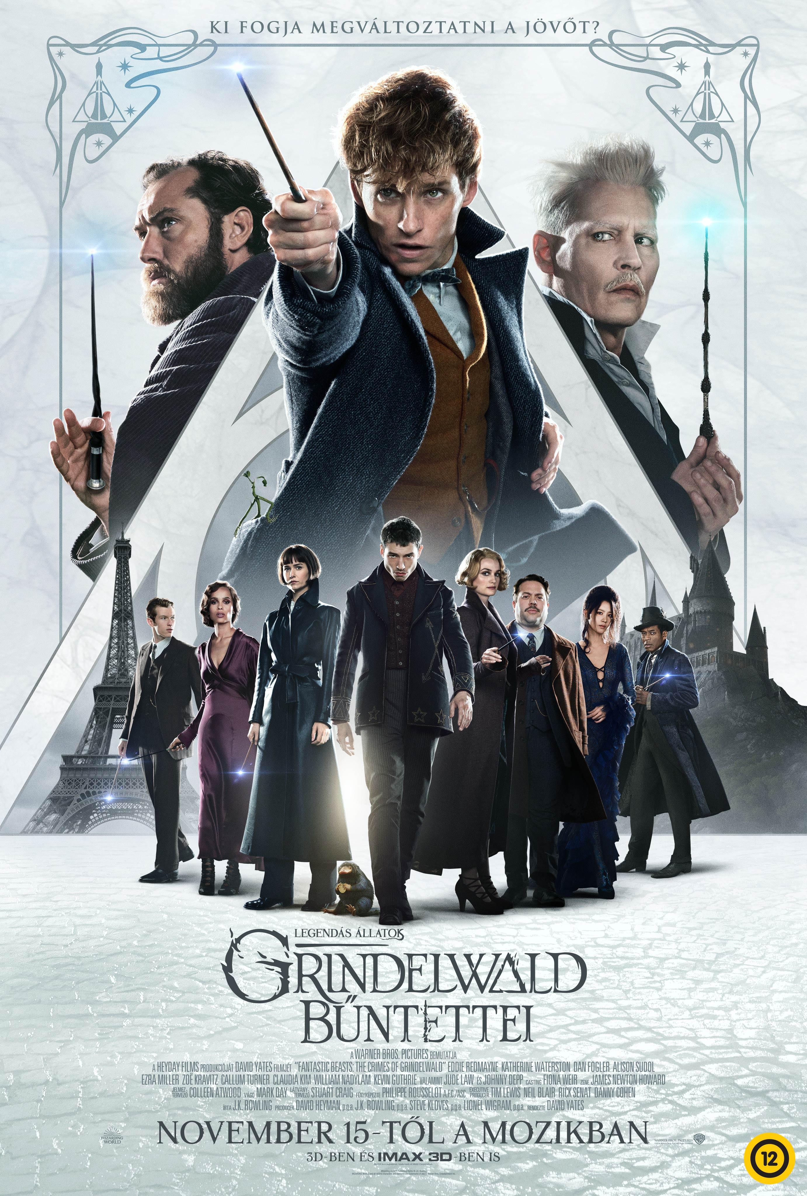"""Képtalálat a következőre: """"Legendás állatok – Grindelwald bűntettei"""""""