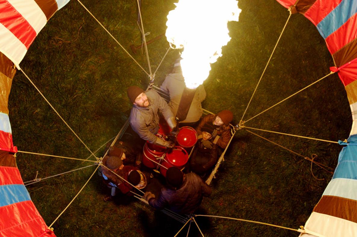 A hőlégballon – A szabadsághoz jó széljárás kell