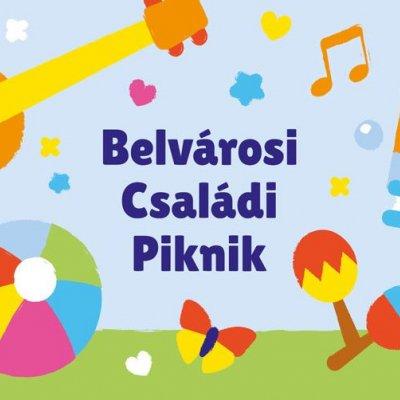 Belvárosi Családi Piknik - Kortárs Gyermekirodalmi Játszótér