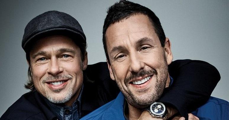 Brad Pitt és Adam Sandler majdnem közös filmben szerepelt