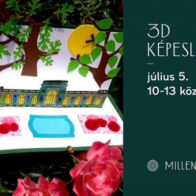 3D képeslap - kézműves-foglalkozás