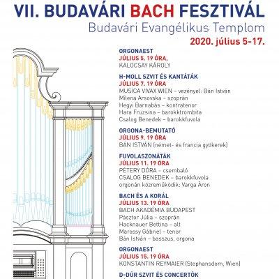VII. Budavári Bach-fesztivál