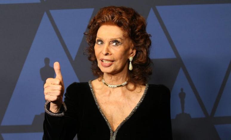 A 86 éves Sophia Loren visszatért a filmezéshez