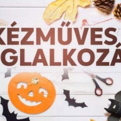 Kézműves foglalkozások - Halloween