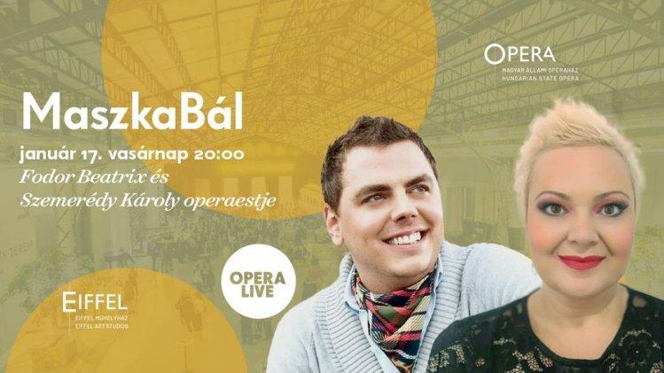 MaszkaBál – Fodor Beatrix és Szemerédy Károly operaestje