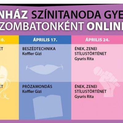 Online Cseppszínház Színitanoda gyerekeknek