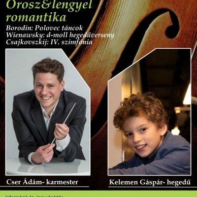 Orosz és lengyel romantika - Savaria Szimfonikus Zenekar